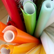 Keep Your Wrapping Paper Organized